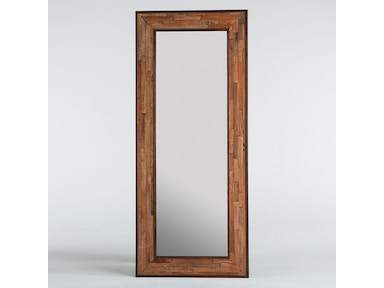 "INDUSTRIAL LOFT MIRROR 84"" , NATURAL"