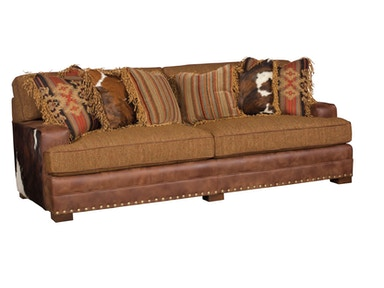 Casbah Leather Fabric Sofa