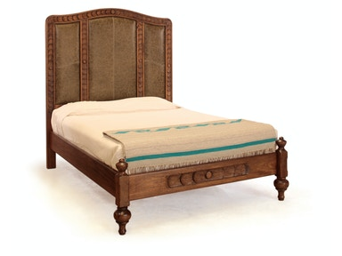 Mont Rose Carved Bed
