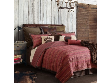 Rustic Paw Bedding Collection