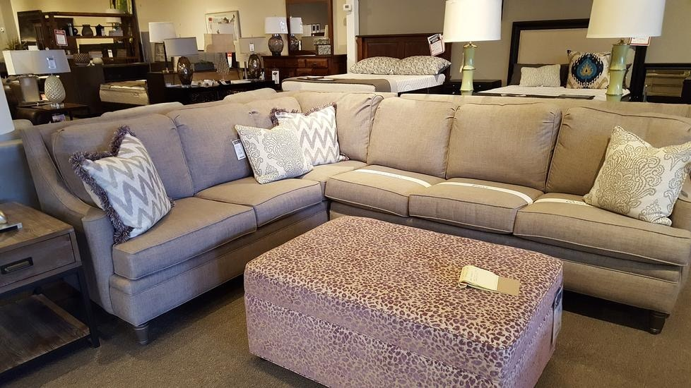 Norwalk Furniture Kent Variations Pick Your Cushion 2 Piece Sectional  NORF 1234 76