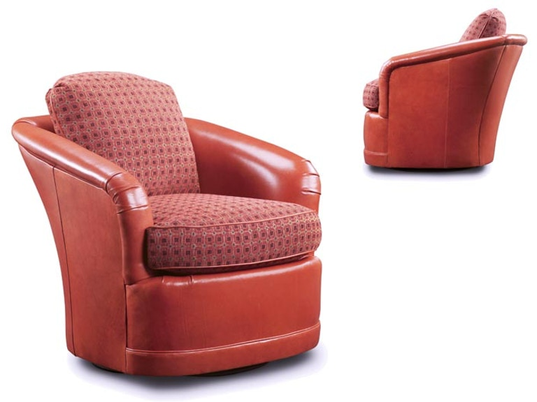 Leathercraft Furniture Living Room Louise Swivel Chair 2272, DMR ...