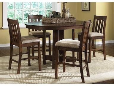 1711319Dining Room Tables   Klingman s   Grand Rapids   Holland  MI. Arlington Round Sienna Pedestal Dining Room Table W Chestnut Finish. Home Design Ideas