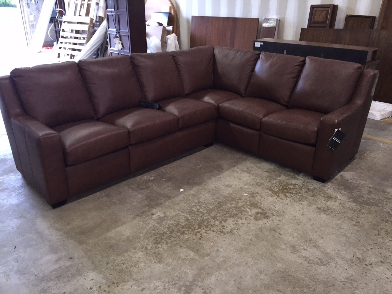 922-74-19. Bradington Young power reclining sectional : bradington young sectionals - Sectionals, Sofas & Couches