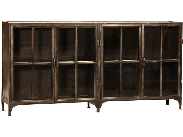 DOVETAIL Dining Room York Metal Sideboard AI162