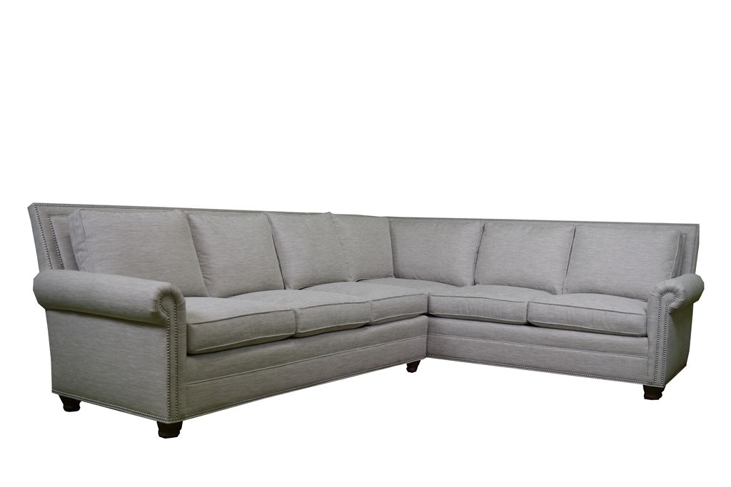 Delightful Vanguard Furniture Simpson Sectional Vanguard Furniture
