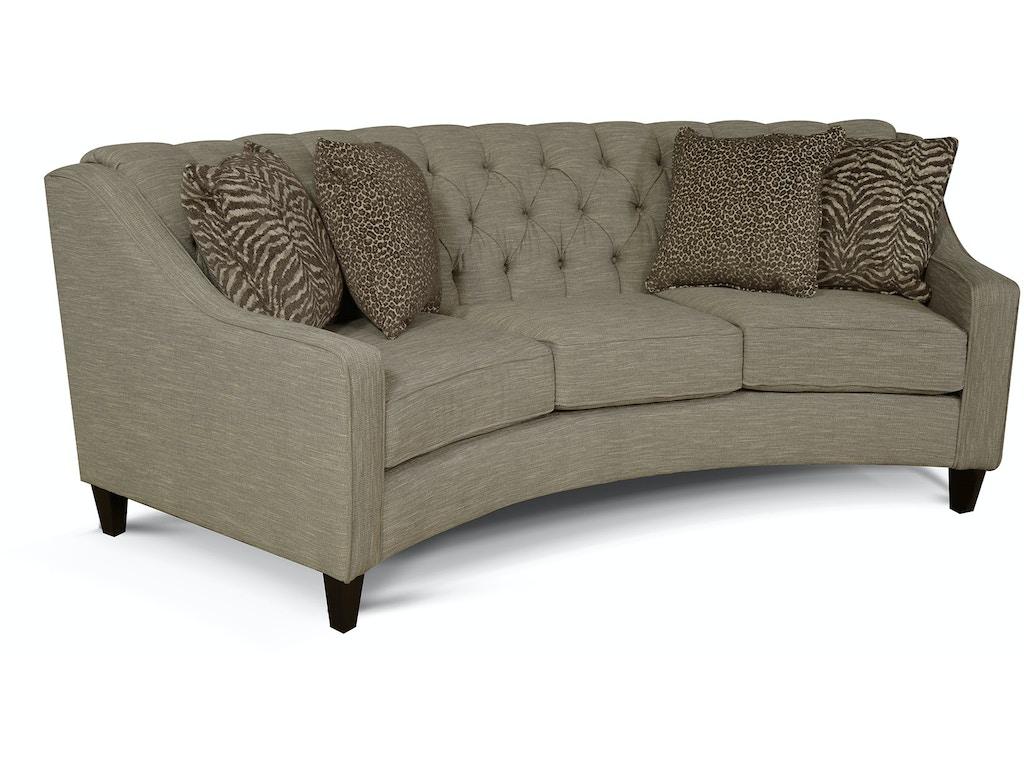 3f05 Curved Sofa Finneran Sofa