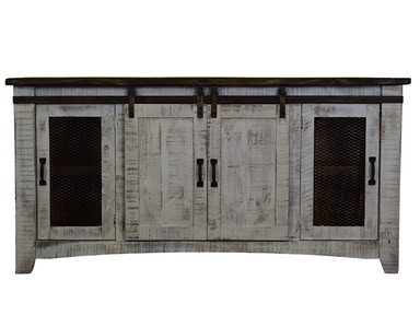 Vintage 80 Sliding Barn Door Console 14513-1