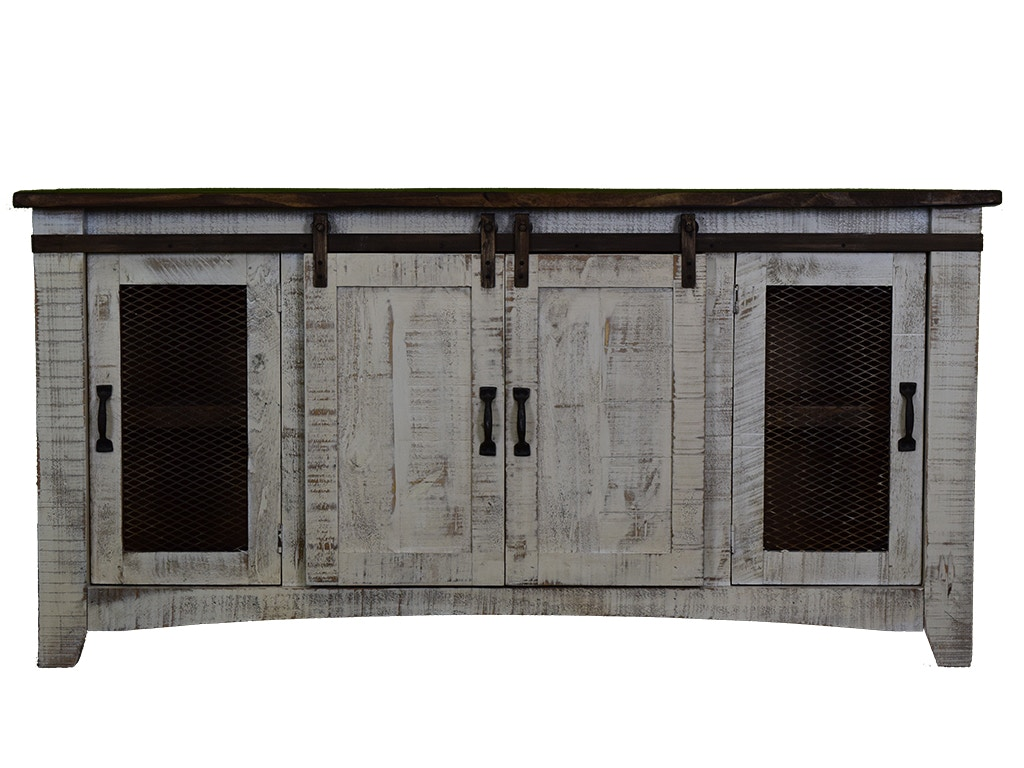Vintage 80 Sliding Barn Door Console 14513 2