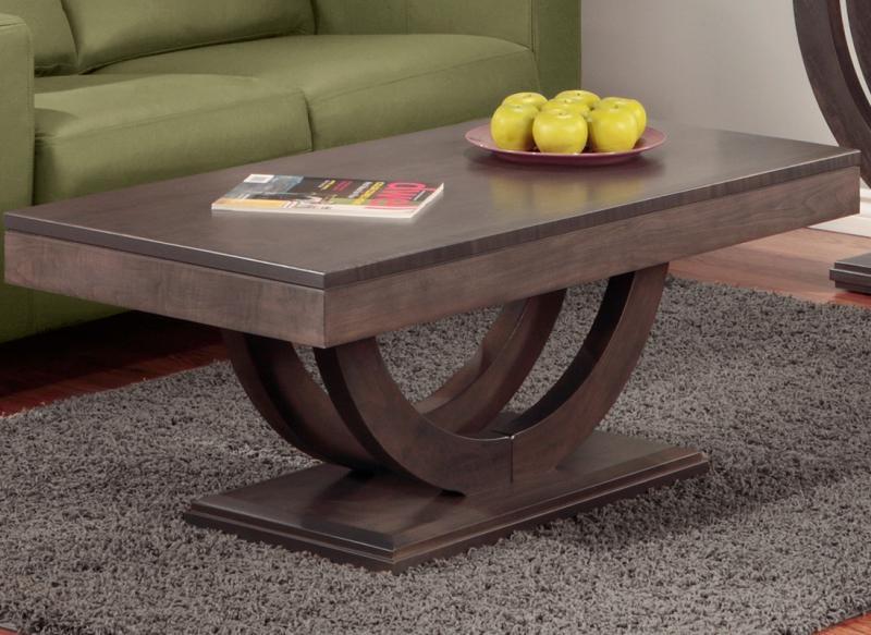 Handstone Contempo Pedestal Coffee Table P COP2346