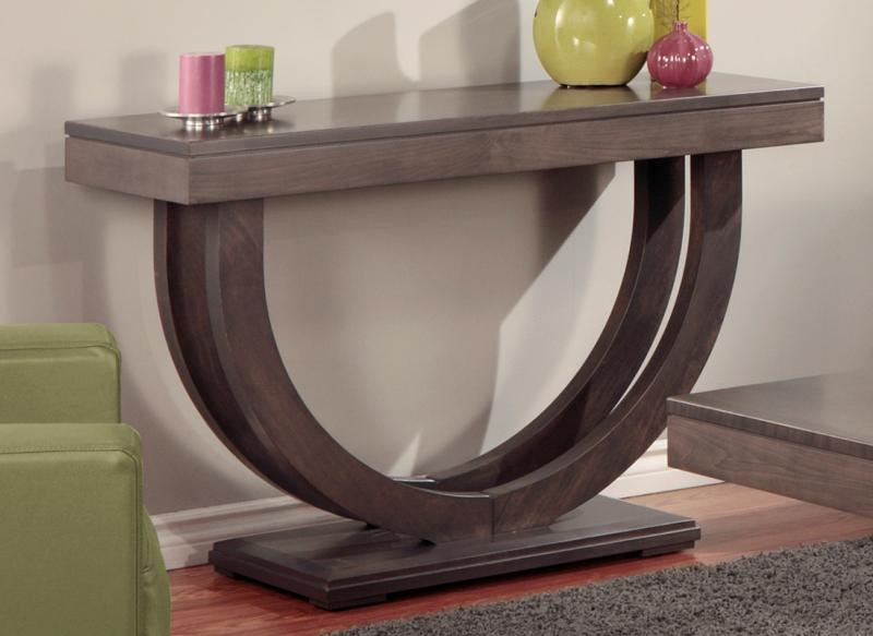 Handstone Contempo Pedestal Sofa Table P COP125