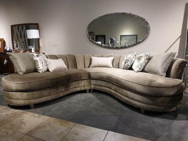 Magnussen Home Magnussen Furniture Two Piece Rosslyn Sectional U4066-2PC