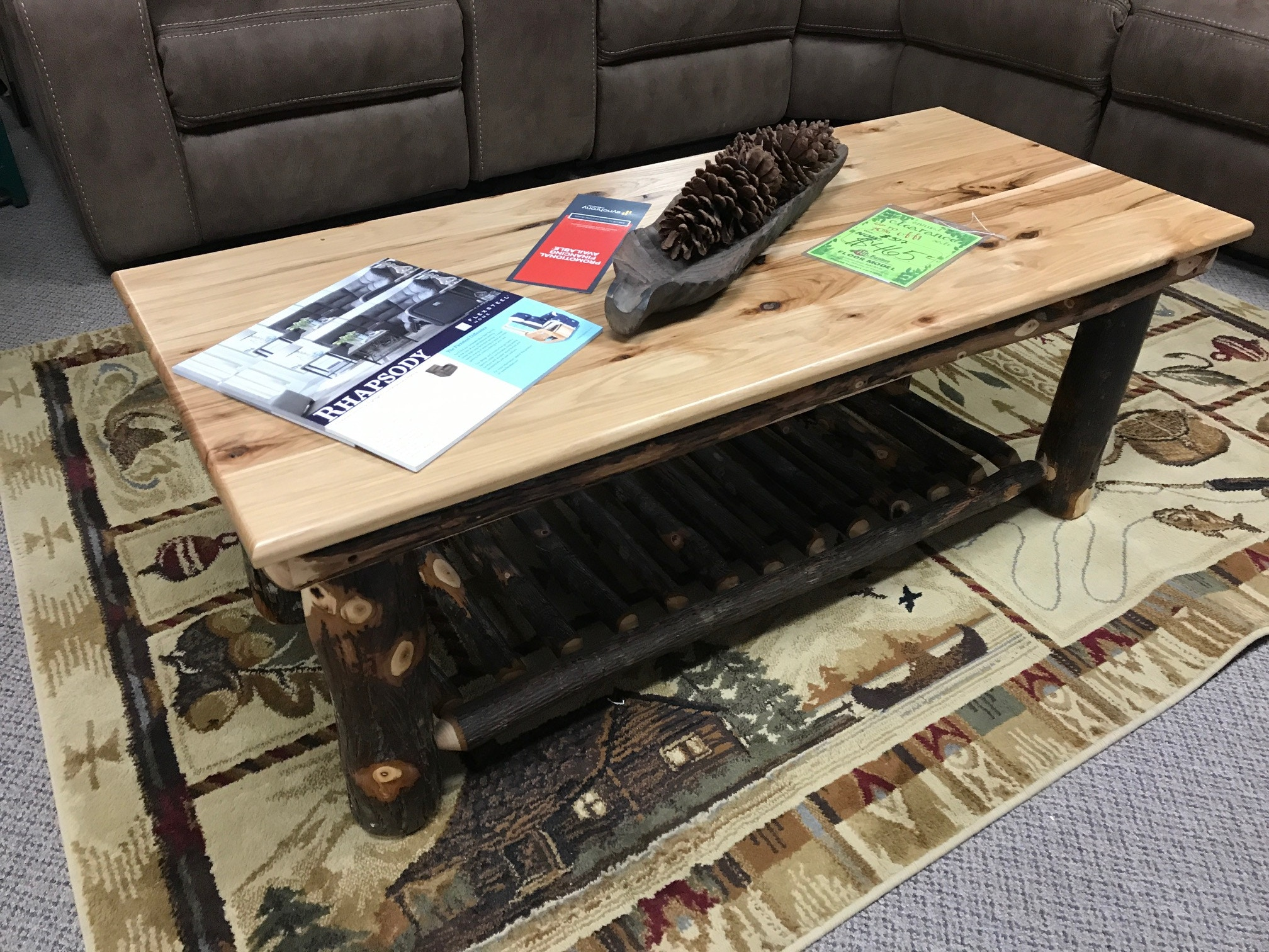 Hilltop Hickory Coffee Table 1424
