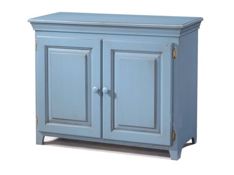 archbold dining room solid pine wood 2 door low cabinet with doors in glazed blue finish arc573. Black Bedroom Furniture Sets. Home Design Ideas