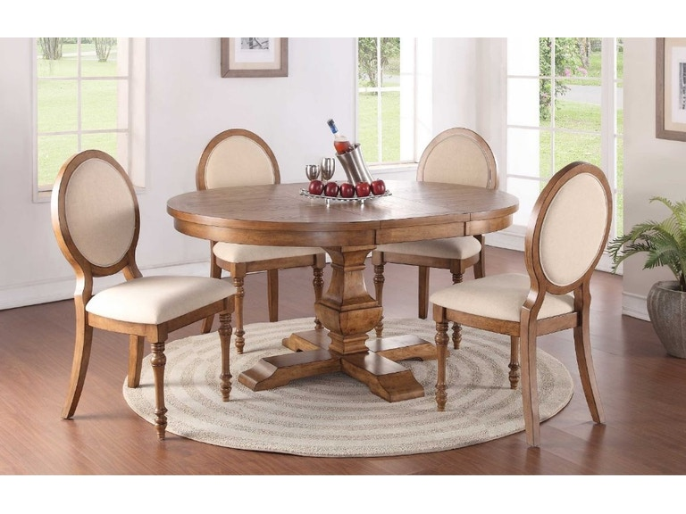 Winners Only Dining Room 48 Table Set Glendale Collection DG34866 At Woodworks Home Furnishings Scroll Down Page For More Product Details