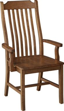 John Thomas Canyon Mission Arm Chair C59 34AB