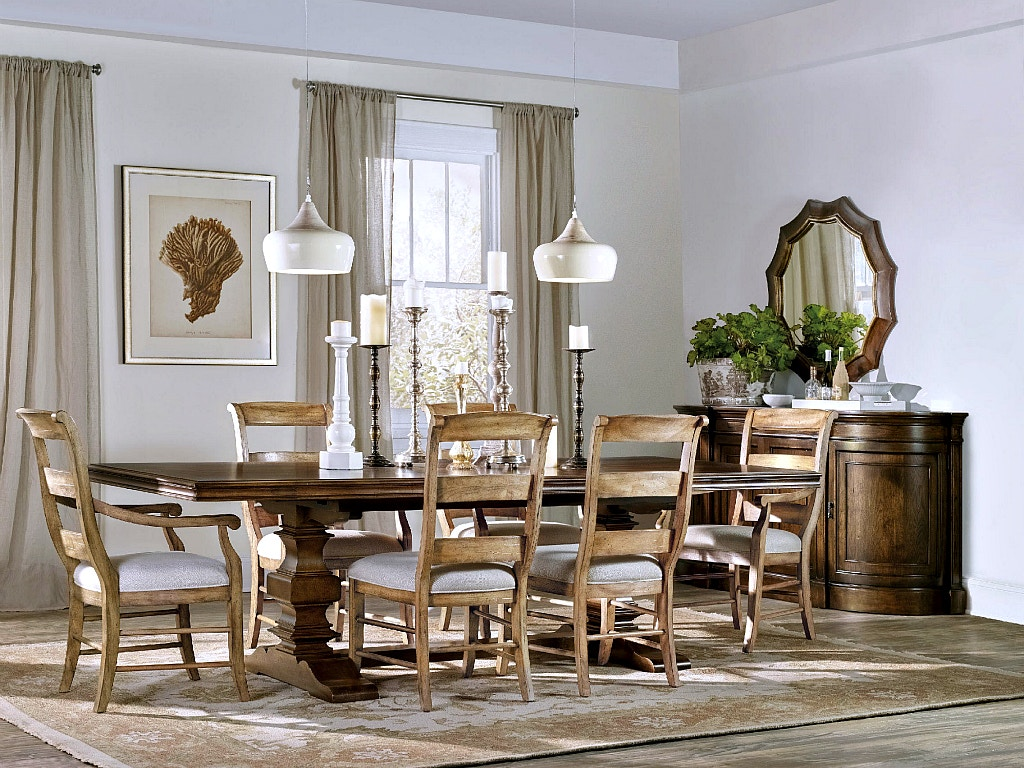 Hooker Furniture Archivist Dining Room Collection, SEE MORE PIECES BELOW.