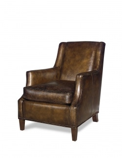 Carolina Custom Leather Custom Upholstery Chair 123 123-Chair  sc 1 st  Galeries Acadiana & Carolina Custom Leather Furniture - Galeries Acadiana - Baton ... islam-shia.org
