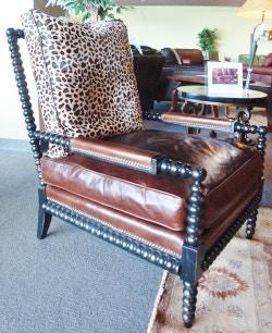 Carolina Custom Leather Custom Upholstery Chair 138 138 Chair