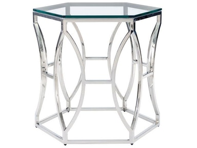 Argent Metal Side Table 6167