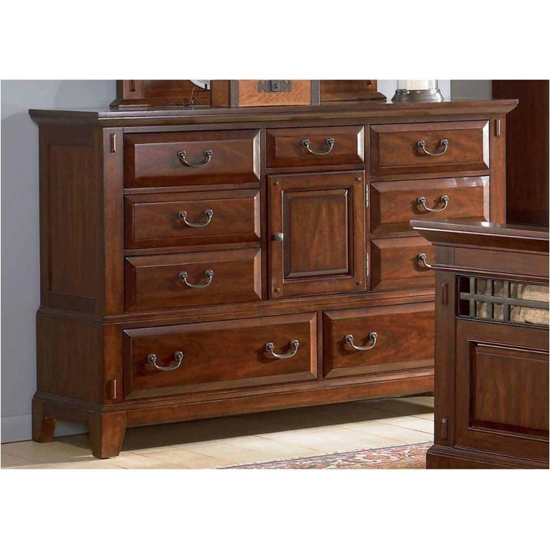 Broyhill Bedroom CHERRY OVER DOOR DRESSER 4985 232 At Short Furniture Co.