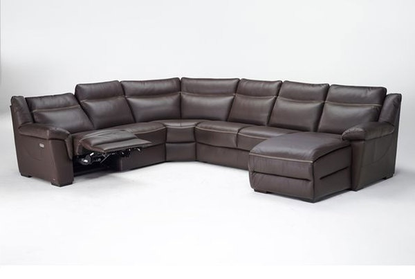 Natuzzi Editions Leather Sectional B865 482   Matter Brothers Furniture    Fort Myers, Sarasota, Tarpon Springs, Naples, And Pinellas Park FL