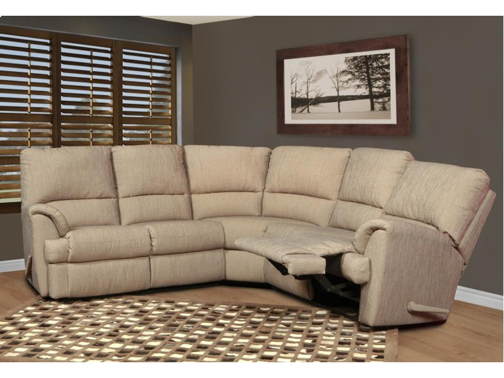 Elran Living Room Reclining Sectional Er2088i Borofka S Furniture Woodbury And Burnsville Mn