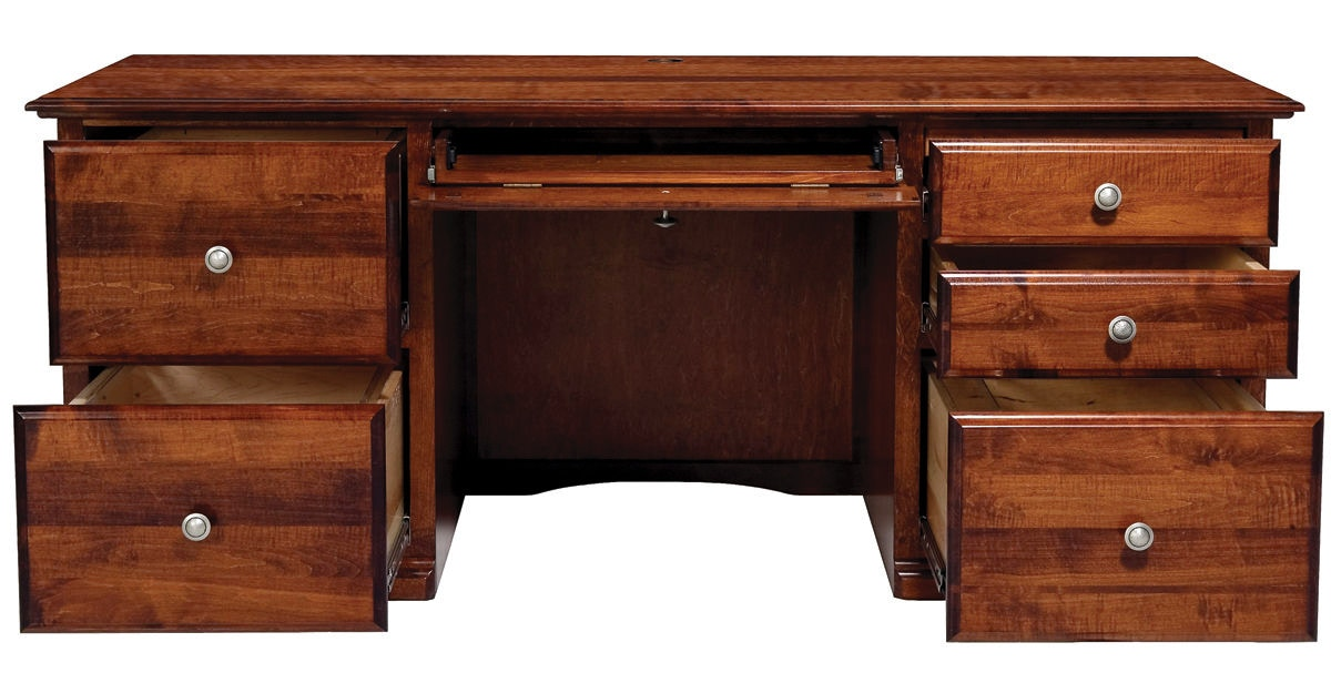 Abalone Home Office Lindsay Double Desk Aw1282 Borofka S Furniture Woodbury And Burnsville Mn