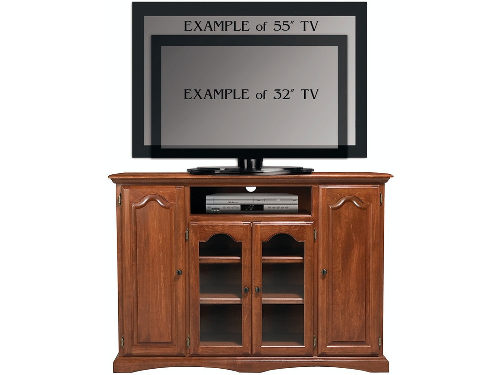 Abalone home entertainment tv console 4 door aw1370 borofka s furniture woodbury and Home choice furniture burnsville mn