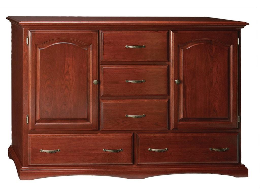 Abalone Bedroom Windsor Double Door Dresser Aw1460 Borofka S Furniture Woodbury And