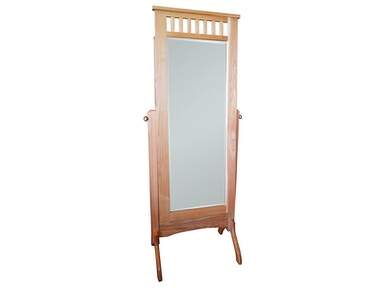 Abalone Spencer Cheval Mirror-no Jewelry