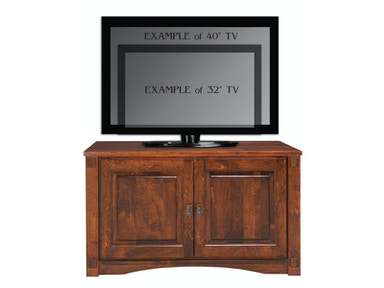 Abalone Spencer 26in TV Stand - A