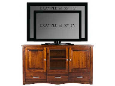 Abalone Spencer 36in TV Stand - D