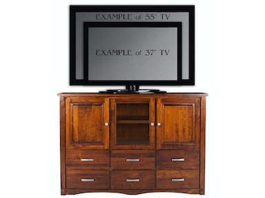 Abalone Spencer 46in TV Stand - D