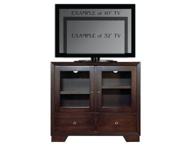 Abalone Nevaeh 36in TV Stand - A