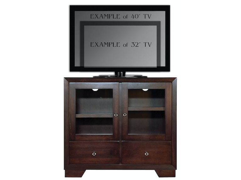 Abalone Nevaeh 36in TV Stand - A AW5381-A