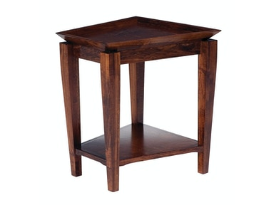 Abalone Larisa Wedge End Table
