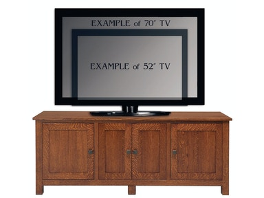 Abalone Sherwood 26in TV Stand - E