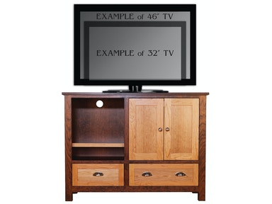 Abalone Sherwood 36in TV Stand - B