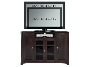 Abalone Avery TV Console-4 Door