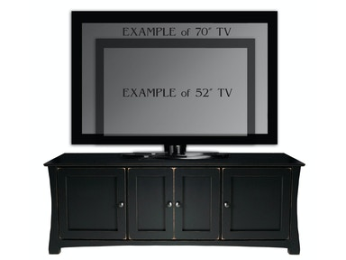 Abalone Avery 26in TV Stand - E