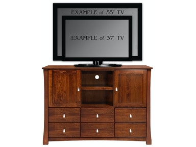 Abalone Avery 46in TV Stand - D