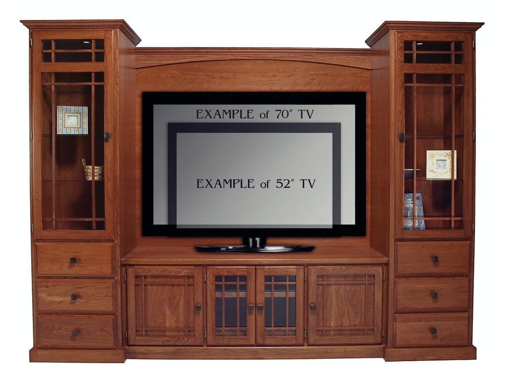 Abalone Home Entertainment Stoney Entertainment Wall 26in Center E Aw9390 E Borofka S