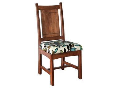 Abalone Fig Side Chair