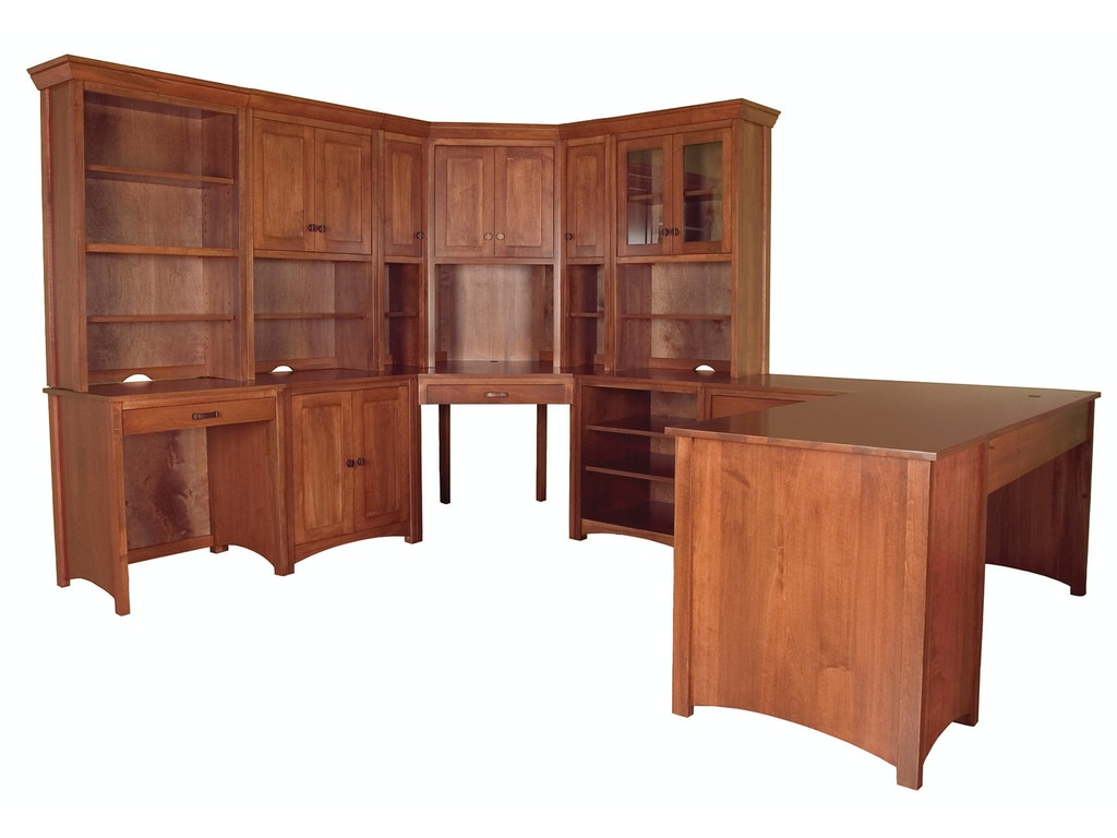 Bridgeport Home Office Gavin Desk 4 Bbgavioffice4 Borofka S Furniture Woodbury And