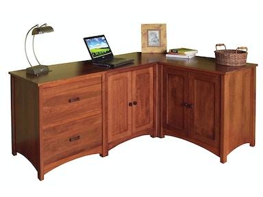 Bridgeport Home Office Gavin Desk 6 Bbgavioffice6 Borofka S Furniture Woodbury And