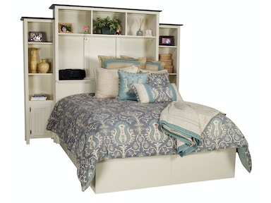 Northern Heritage Bed Wall & Drawers