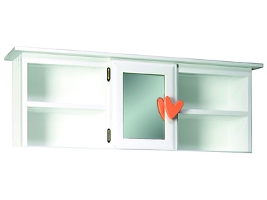 Northern Heritage Mirrored Door Hutch