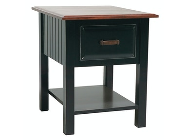 Northern Heritage Bungalow 1 Drawer End Table