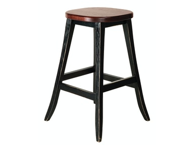 Chesapeake Del 24in Backless Stool
